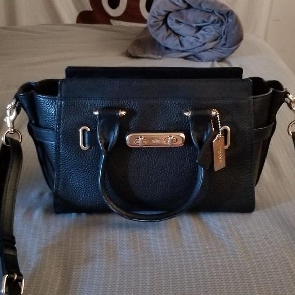 Coach Handbags - Coach Handbag Satchel Black